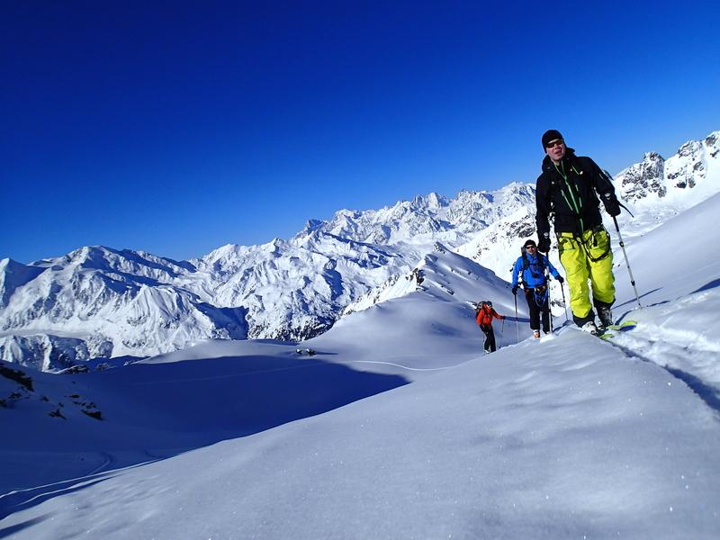 Haute route guided ski tour for Haute route chamonix zermatt