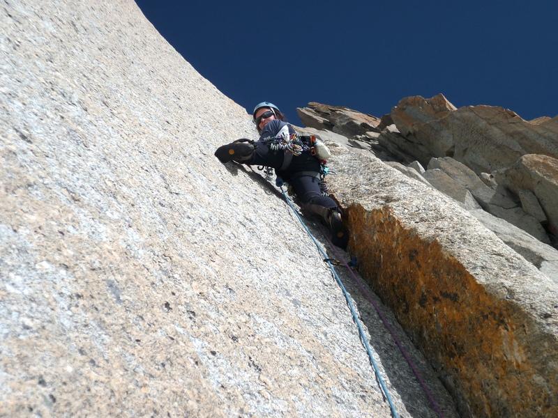 Rock Climbing Granite Course Chamonix