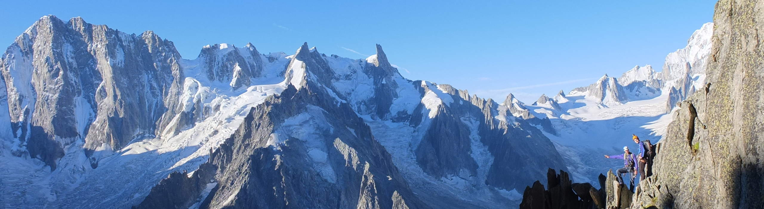 Climbing in Chamonix, Aiguilles and Mont Blanc Massif