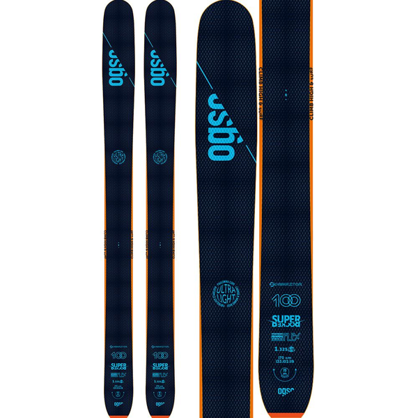 Ski touring skis - freeride style