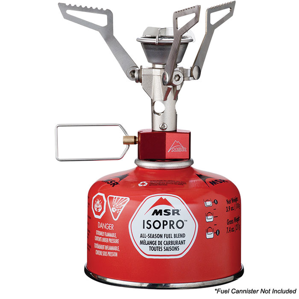 Camping stove + gas