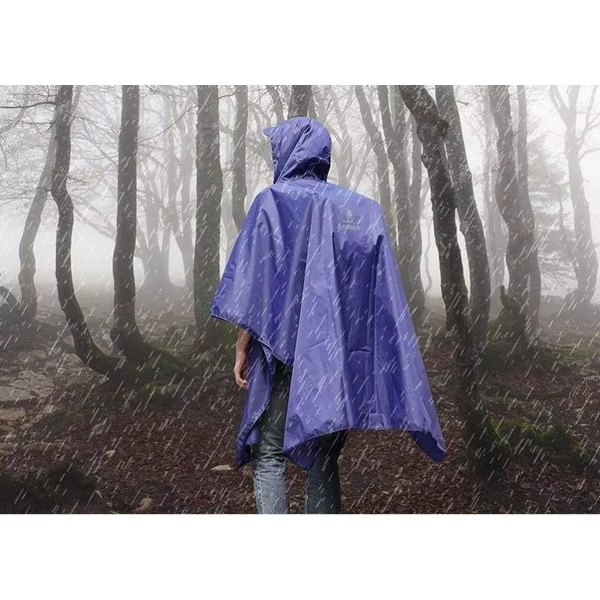 Waterproof poncho or backpack cover