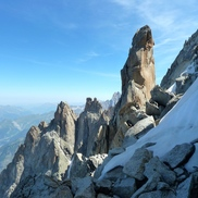 Aiguilles Chamonix rock climbing and mountaineering