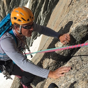 Pointe Lachenal Contamines Route Climbing in Chamonix
