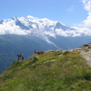 Hiking in Chamonix, Summer in French Alps